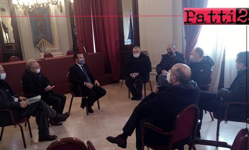 MESSINA – Scorrimento veloce Patti-Taormina. Incontro con il sindaco Metropolitano Cateno De Luca