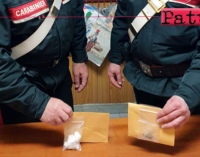 FURCI SICULO – Cocaina in auto. Arrestato 35enne e denunciata coppia