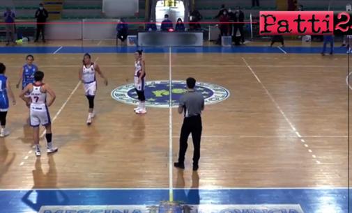 PATTI – A2 basket femminile. Alma Patti Basket – Fe.Ba Civitanova Marche 63-54