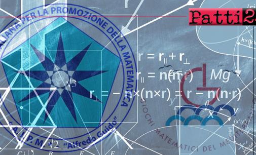 PATTI – Giochi Matematici del Mediterraneo. Isabel Pace Lamacchia, per Liceo, prenderà parte alla finale nazionale del 14 maggio.