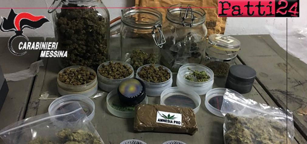PIRAINO – 31enne in possesso di oltre 400 grammi di hashish e marijuana. Arrestato