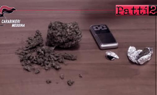 TORREGROTTA – Il fiuto dell'unità cinofila consente di rinvenire droga in abitazione. Arrestato 51enne