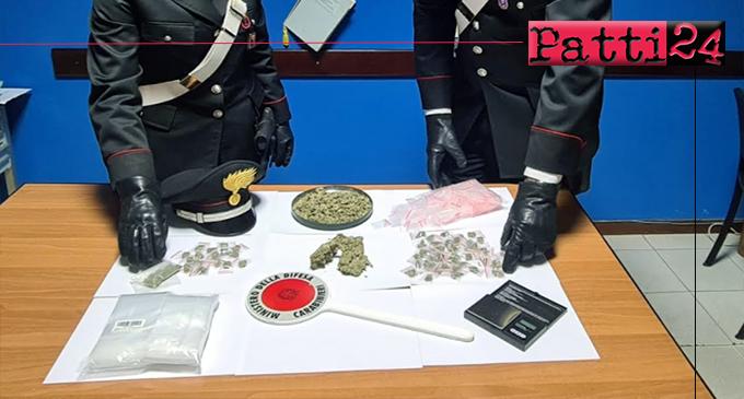 NIZZA DI SICILIA – Detenzione di sostanze stupefacenti ai fini di spaccio. Arrestato 32enne