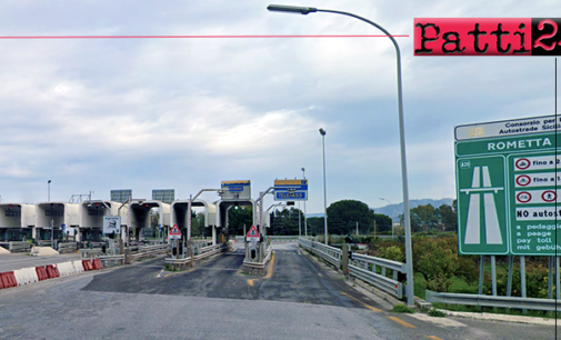 A20 – Nuovo asfalto anche per lo svincolo di Rometta