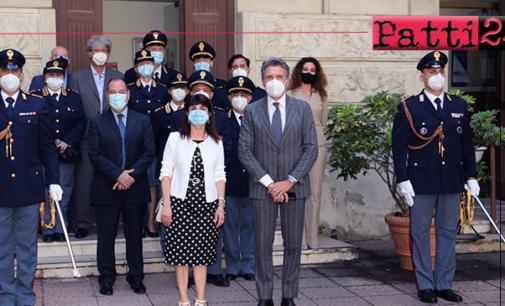 MESSINA – Il Prefetto Di Stani visita la Questura per incontrare il neo Questore Capoluongo e i suoi Dirigenti
