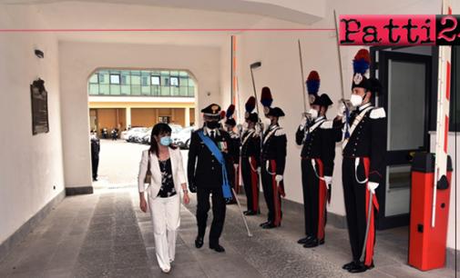 MESSINA – Visita del Prefetto S.E. dott.ssa Cosima Di Stani al Comando Provinciale Carabinieri