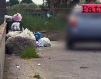 MILAZZO – Automobilista abbandona rifiuti lanciando il sacchetto. Beccato dalla fototrappola.