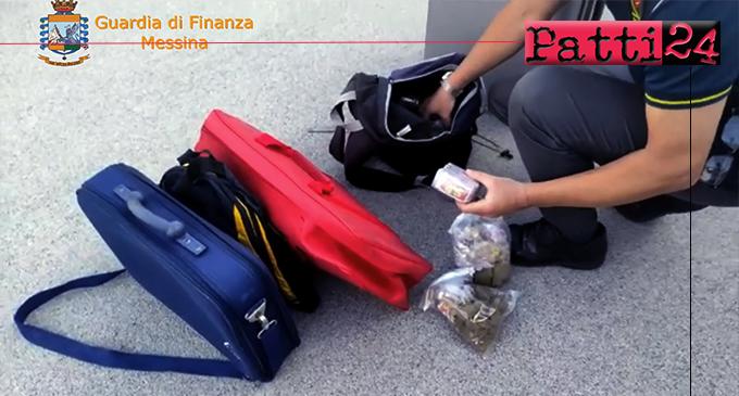 MESSINA – Arrestato corriere della droga. Sequestrati oltre 3 kg di hashish custoditi all'interno di uno zainetto.