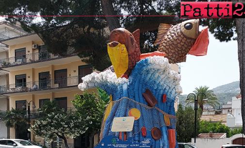 PATTI – Contro l'inquinamento ambientale S.e.a. Lovers dona una scultura al Comune.