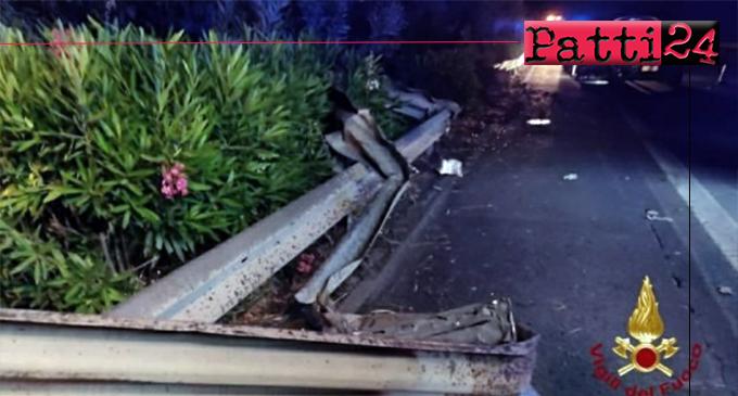 A18 – Tragico incidente tra due auto durante la notte tra Fiumefreddo e Giardini Naxos. 2 morti e 4 feriti
