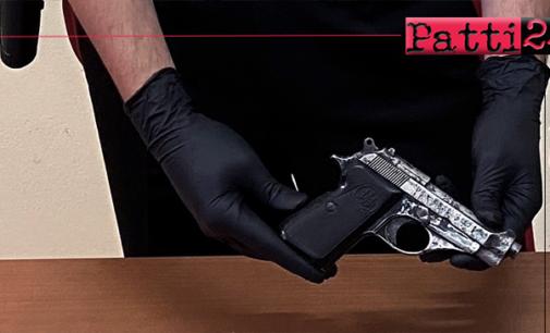 MOTTA CAMASTRA – In possesso di pistola con matricola abrasa. Arrestato cittadino rumeno