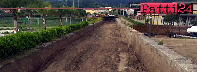 OLIVERI – Pulizia torrenti e aree demaniali ad opera dell'Ente Sviluppo Agricolo.