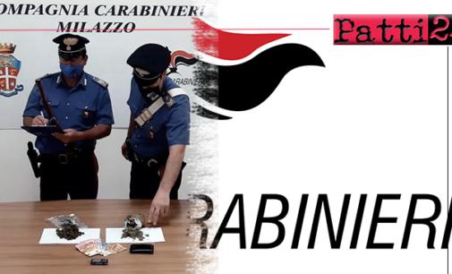 SAN FILIPPO DEL MELA – Controlli antidroga. Un arresto ed una denuncia in stato di libertà.