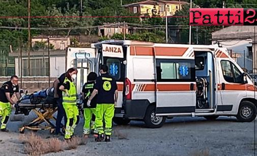 SAN PIERO PATTI – Grave incidente stradale. Scontro tra due auto, 4 feriti