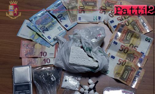 MILAZZO – Sequestrati 180 grammi di cocaina. Arrestato pusher 56enne