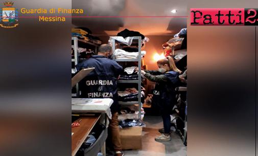 SAPONARA – Scoperta stamperia clandestina. Sequestrati capi contraffatti, macchinari  e l'immobile, per un valore complessivo di oltre € 150.000,00.