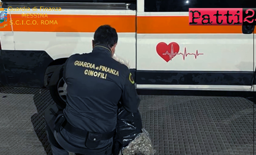 MESSINA – Traffico di droga in piena pandemia con le ambulanze in Sicilia, Lazio ed Abruzzo. 8 arresti e  65 kg di marijuana sequestrati.
