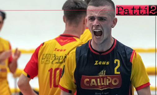 PATTI – Il pattese Alex Aiello approda in Serie A3 all'Avimecc Volley Modica