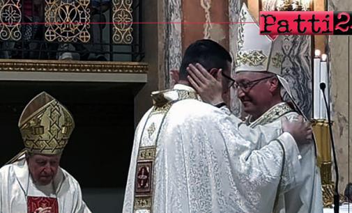 PATTI – Basilica Santuario di Tindari. Il diacono Antonio Lo Presti è stato ordinato sacerdote