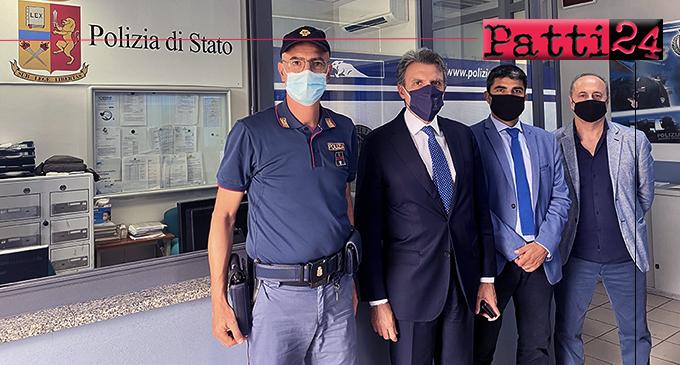 PATTI – Il Questore visita il Commissariato, incontra il Vescovo, il Sindaco in Comune, il Presidente del Tribunale e il Procuratore Capo