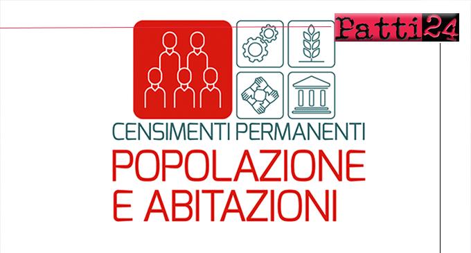 PATTI – Il Comune cerca 9 rilevatori censimento popolazione 2021. Approvato bando selezione pubblica, per titoli.