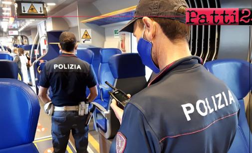 SICILIA – Controllate nelle stazioni ferroviarie e a bordo dei treni 2.897 persone.