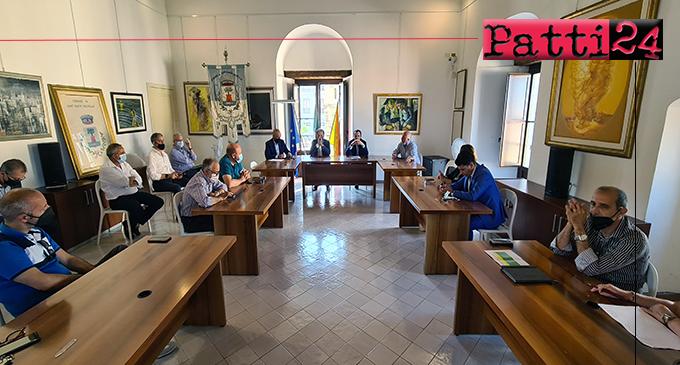 SANT'AGATA DI MILITELLO – Riunione Sindaco Metropolitano ed i 15 Amministratori locali zona Nebrodi Centrale.