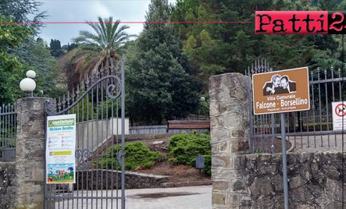 """SAN PIERO PATTI – Divieto di condurre cani nelle aree gioco comunali """"Villa Falcone-Borsellino"""" e parco giochi di Piazza Dante. Le deiezioni canine limitano di fatto l'utilizzo."""