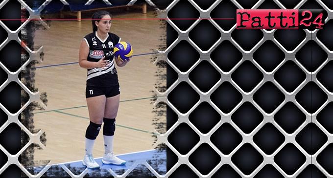 BROLO – Saracena Volley. Confermata la palleggiatrice messinese Clara D'Arrigo