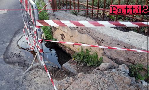 PATTI – Rete idrica cittadina. Interventi all'insegna della precarietà, spreco e transenne