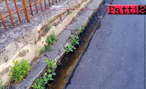 PATTI – Rete idrica cittadina. In alcune zone l'acqua arriva col contagocce e in altre si spreca per mancato intervento.