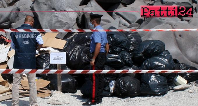 ISOLE EOLIE – A Ginostra gestore raccolta rifiuti deposita sacchi di spazzatura maleodorante sulla sabbia. Sequestro area e denuncia