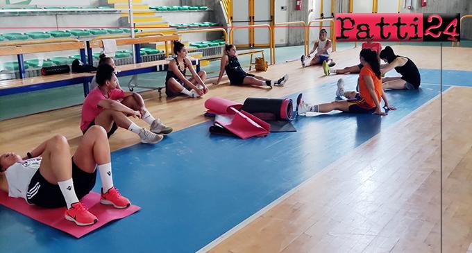 """A2 BASKET FEMMINILE – L'Alma Patti ha iniziato la preparazione al """"PalaSerranò""""."""