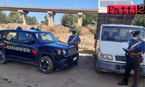 BARCELLONA P.G. – Trasporto su strada dei rifiuti. 11 denunce per violazioni della normativa ambientale a Falcone, Terme Vigliatore e Barcellona P.G.