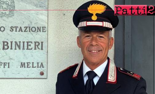 MONGIUFFI MELIA – Il Luogotenente Diego De Gregorio è il nuovo Comandante della Stazione Carabinieri.