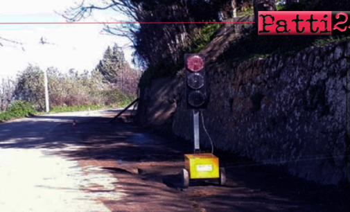 """MIRTO – Senso unico alternato e limitazione al transito sulla strada provinciale 157 """"Tortoriciana"""""""