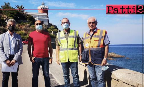 CAPO D'ORLANDO – Consolidamento della SP 147, consegnati i lavori
