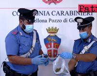 BARCELLONA P.G. – Detenzione di sostanza stupefacente ai fini di spaccio.Arrestati due milazzesi