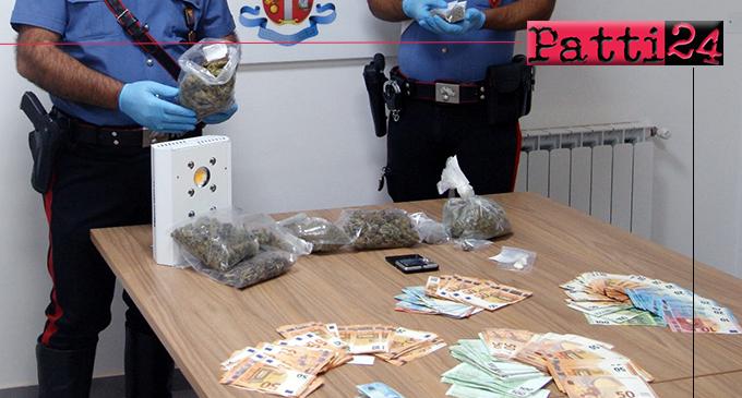 BARCELLONA P.G. – Detenzione di sostanza stupefacente in concorso. Arrestati tre componenti di un nucleo familiare.