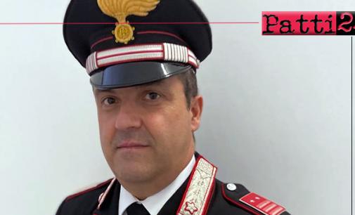 SANTO STEFANO DI CAMASTRA – Il Luogotenente C.S. Cesare Rizzo si è insediato al Comando della Stazione Carabinieri.