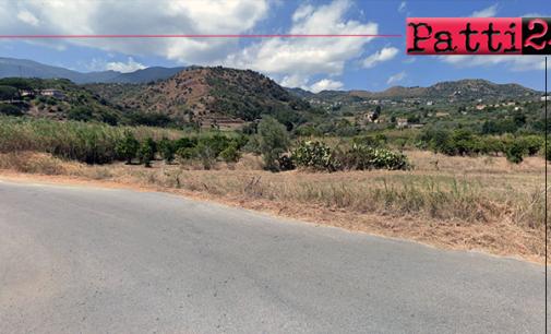 PATTI – Lavori di sistemazione tratto strada in località Belfiore.