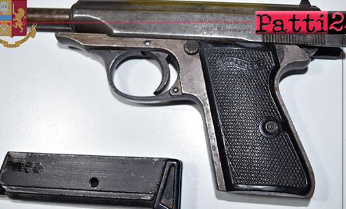 MESSINA – Detenzione di arma illegale e ricettazione. 27enne sottoposto a fermo di polizia giudiziaria.