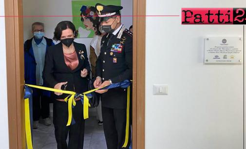 """SANTO STEFANO CAMASTRA – Inaugurata """"Una stanza tutta per sé"""". Sale per le """"audizioni protette"""" dei soggetti vulnerabili."""